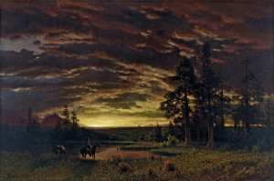 Albert_Bierstadt_-_Evening_on_the_Prairie