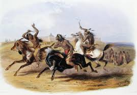 Horse racing of the Sioux