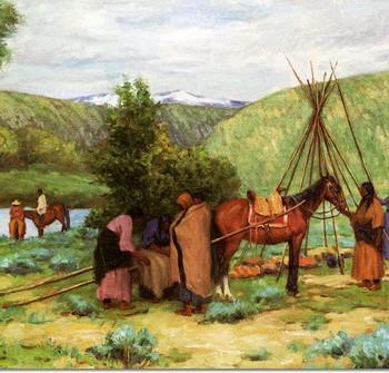 joseph-henry-sharp-setting-up-camp-little-big-horn